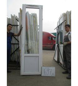 Дверь пластиковая 2350х700