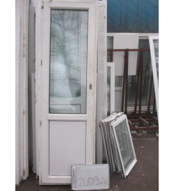 Дверь пластиковая 2300х670