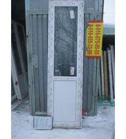 Дверь пластиковая 2360х640