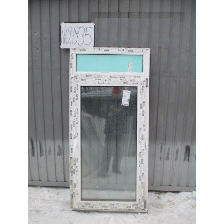 Окно пластиковое 1620х780