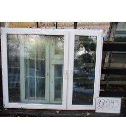 Окно пластиковое 1440х1760