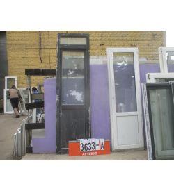 Пластиковые Двери Б/У 2480 (в) х 680 (ш)