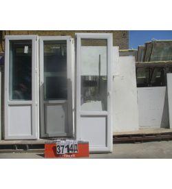 Пластиковые Двери Б/У 2260 (в) х 720 (ш)