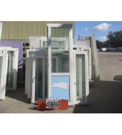 Двери БУ ПВХ 2330 (в) х 690 (ш)