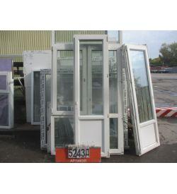 Пластиковые Двери Б/У 2300 (в) х 660 (ш)