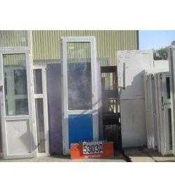 Двери Балконные ПВХ БУ 2320 (в) х 700 (ш)