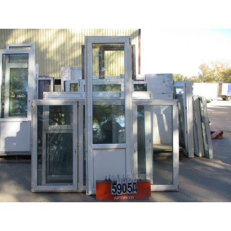 Двери Балконные ПВХ Б/У 2420 (в) х 720 (ш)