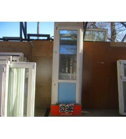 Пластиковые Двери Балконные БУ 2340 (в) х 700 (ш)