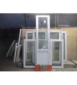 Двери Балконные Пластиковые Б У 2660 (в) х 700 (ш)