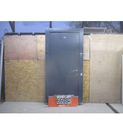 Двери Входные Металлические Б/У 2080 (в) х 970 (ш)