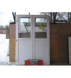 Двери Входные Пластиковые Б/У 2380 (в) х 1600 (ш)
