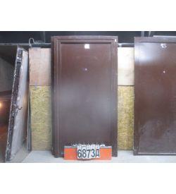 Двери Входные Металлические Б/У 2050 (в) х 990 (ш)