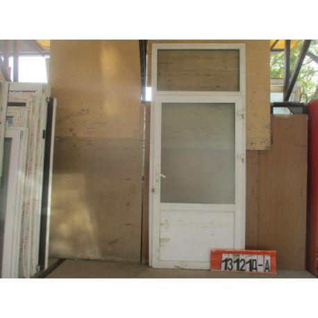 Пластиковые Двери БУ 2730(в) х 1140(ш) Входные