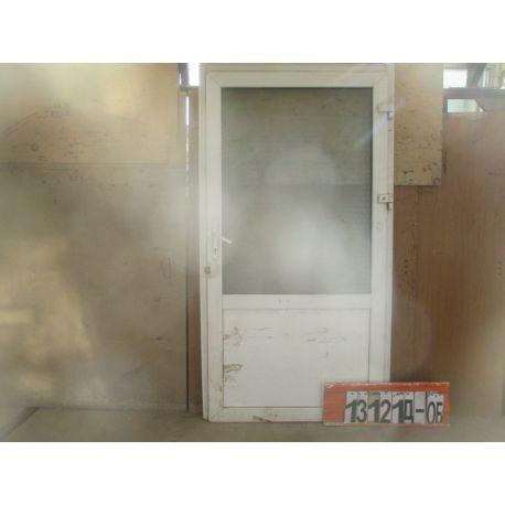 Пластиковые Двери БУ 2140(в) х 1140(ш) Входные Неликвид