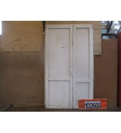 Пластиковые Двери БУ 2260(в) х 1300(ш) Входные Сэндвич-панель