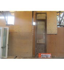Пластиковые Двери Б/У 2770(в) х 700(ш) Балконные
