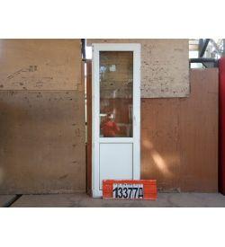 Пластиковые Двери Б У 2200(в) х 700(ш) Балконные