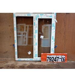 Пластиковые Окна 1340(в) х 1140(ш) VEKA
