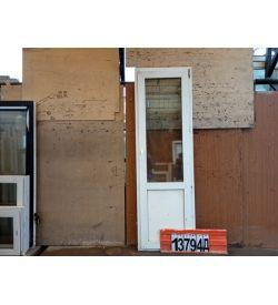 Пластиковые Двери БУ 2160(в) х 680(ш) Балконные