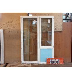 Пластиковые Двери БУ 2100(в) х 1470(ш) Балконные