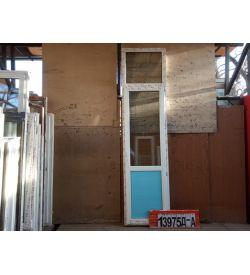 Пластиковые Двери 2760(в) х 700(ш) Балконные KBE
