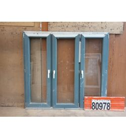 Пластиковые Окна БУ 1450(в) х 1570(ш)