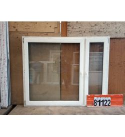 Пластиковые Окна БУ 1450(в) х 1760(ш)
