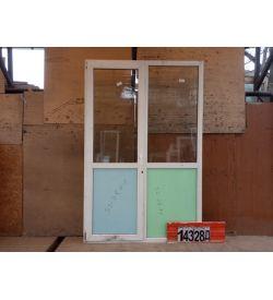 Двери БУ Пластиковые 2340(в) х 1530(ш) Балконные