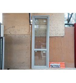 Двери Пластиковые БУ 2340(в) х 760(ш) Балконные