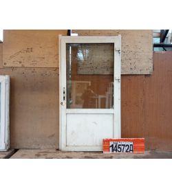 Двери Пластиковые БУ 2140(в) х 1140(ш) Входные Некондиционные