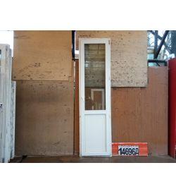 Пластиковые Двери Б/У 2430(в) х 660(ш) Балконные