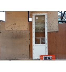 Пластиковые Двери Б/У 2370(в) х 770(ш) Балконные