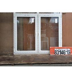 Пластиковые Окна Б У 1370(в) х 1620(ш) Некондиция
