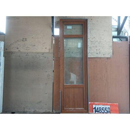 Пластиковые Двери Б/У 2380(в) х 700(ш) Балконные