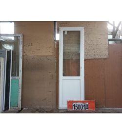 ПВХ Двери Б/У 2330(в) х 730(ш) Балконные