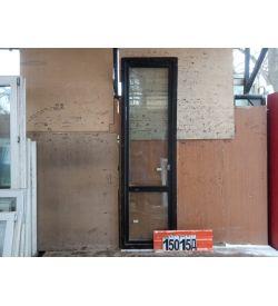 Пластиковые Двери Б/У 2460(в) х 730(ш) Балконные