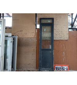 ПВХ Двери Б/У 2500(в) х 680(ш) Балконные