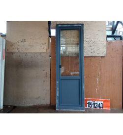 Пластиковые Двери Б/У 2270(в) х 750(ш) Балконные