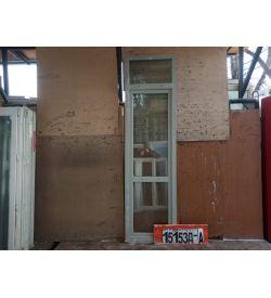Пластиковые Двери Б/У 2640(в) х 730(ш) Балконные