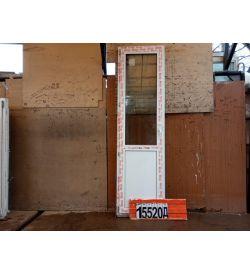 ПВХ Двери Б/У 2360(в) х 660(ш) Балконные
