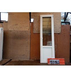 Пластиковые Двери Б/У 2360(в) х 670(ш) Балконные