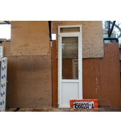 Пластиковые Двери Б/У 2410(в) х 700(ш) Балконные