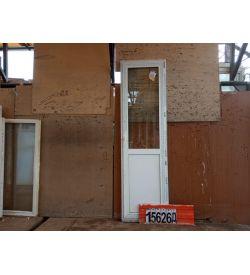 Пластиковые Двери Б/У 2310(в) х 670(ш) Балконные