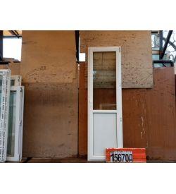 ПВХ Двери Б/У 2300(в) х 690(ш) Балконные
