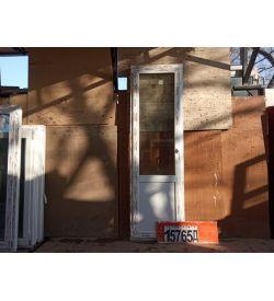 ПВХ Двери Б/У 2290(в) х 700(ш) Балконные