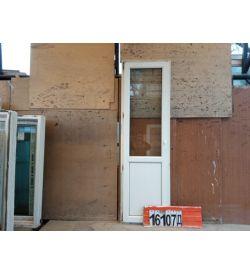 Двери Пластиковые БУ 2210(в) х 660(ш) Балконные