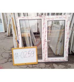 Пластиковые Окна 1100 (в) х 1200 (ш) Готовые
