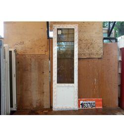 Пластиковые Двери Б/У 2330(в) х 700(ш) КБЕ Балконные