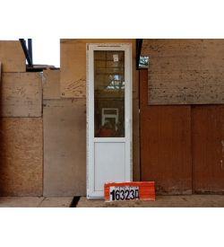 Пластиковые Двери Б/У 2340(в) х 700(ш) Балконные