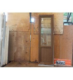 Пластиковые Двери Б/У 2320(в) х 700(ш) Балконные
